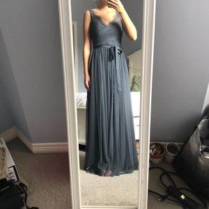 BHLDN Fleur Dress in Charcoal
